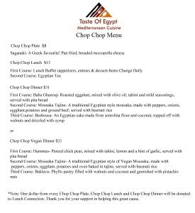 Chop Chop 2014