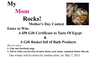 Mother's Day Facebook Contest 2